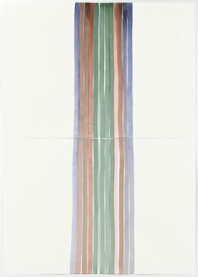Silvia Bächli, 'Untitled (Mantel 5)', 2017