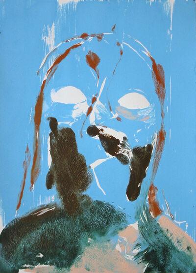 Nicola Tyson, 'Self Portrait (Blue)', 2003