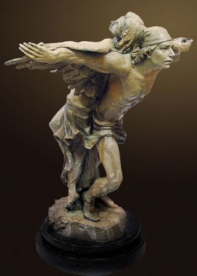 Nguyen Tuan, 'Synergy Bronze Sculpture'