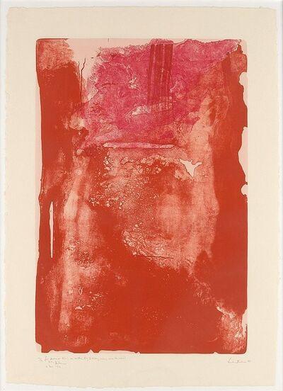 Helen Frankenthaler, ' Divertimento', 1983