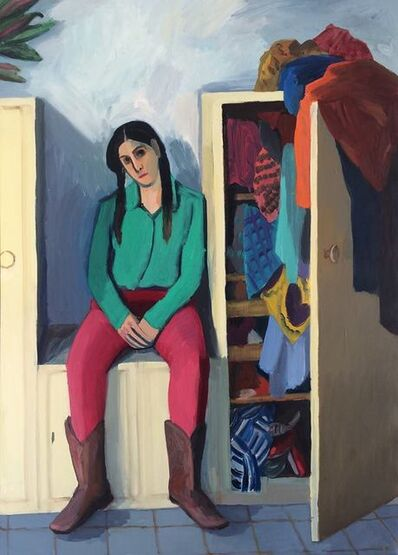 Anna Lukashevsky, 'A Girl and a Cupboard', 2016