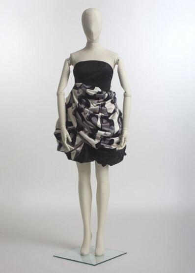 Mickalene Thomas, 'Elle.  Elle, 2013, Installation view.  Palais de Tokyo, Paris.  ART CAPSUL Curated by Stacy Engman exhibition, July 2013.  Haute Couture.'