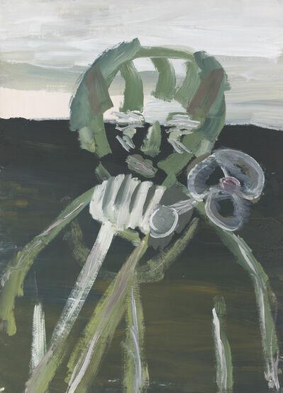 Vladimir Yakovlev, 'Figure with flower', 1969