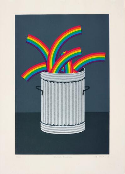 Patrick Hughes, 'Rubbish Rainbows', 1978
