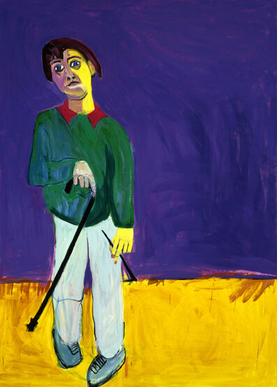 Lucy Jones, 'Lucy Jones with Her Walking Stick', 1996