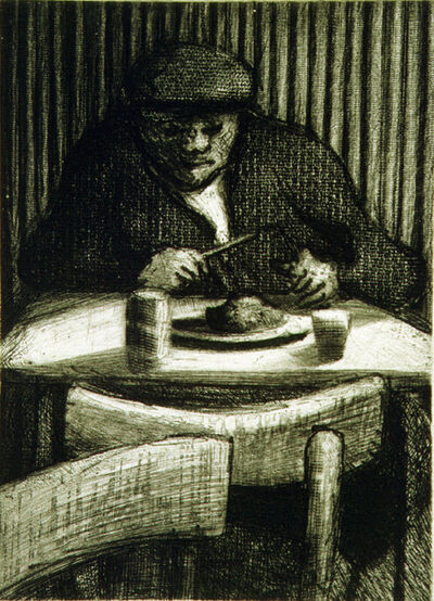 Bill Jacklin, 'Man Eating', 1998