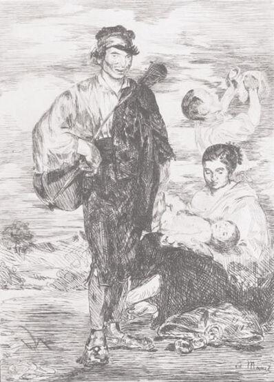 Édouard Manet, 'Les Gitanos', 1862