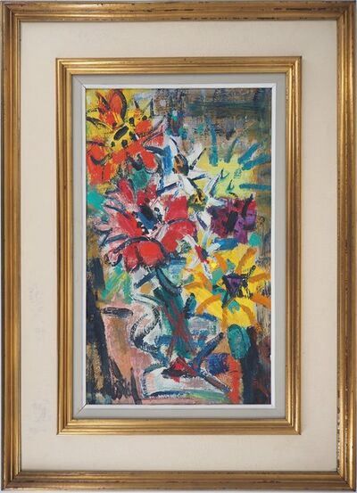 Gen Paul, 'Colorful Flowers, c. 1940', 20th Century