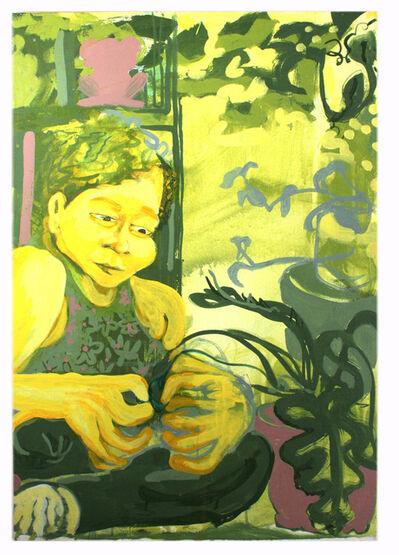 Keisha Prioleau-Martin, 'Tending to Plants', 2020