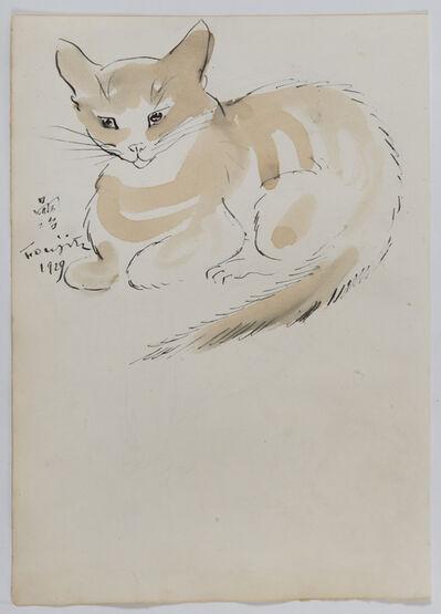 Léonard Tsugouharu Foujita, 'Chat', 1929