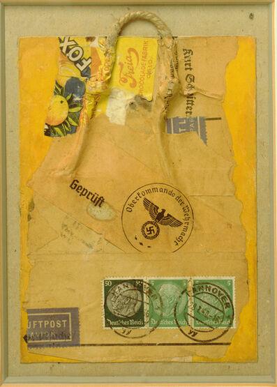 Kurt Schwitters, 'Geprüft (Inspected)', 1940