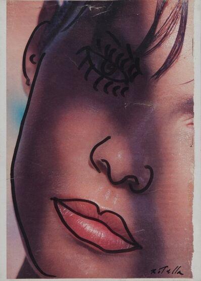 Mimmo Rotella, 'Sperando', 1990