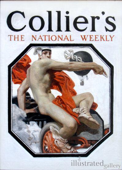 Joseph Christian Leyendecker, 'The Speed God Mercury, Collier's Magazine Cover', 1907