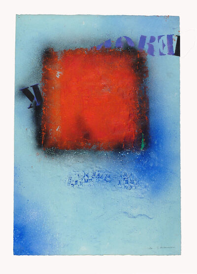 James Coignard, 'Rouge en situation', 2004