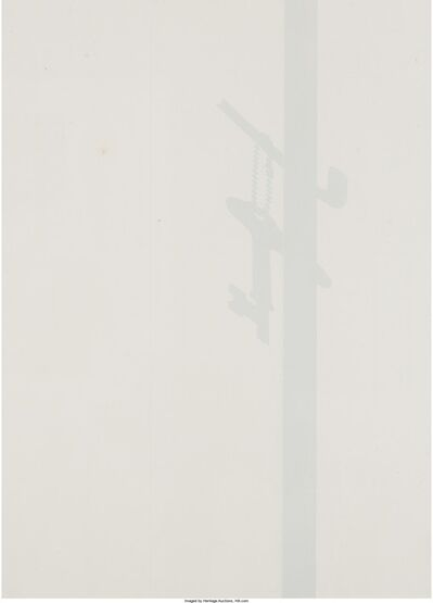 Jiro Takamatsu, 'Shadow of Key', 1969