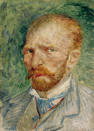 Vincent van Gogh, 'Self-portrait', 1887