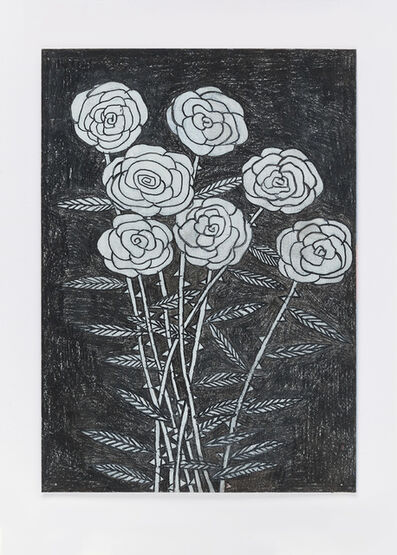 David Austen, 'Untitled (night flowers)16.2.16', 2016