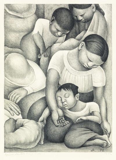 Diego Rivera, 'El Sueño (La Noche de los Pobres).', 1932