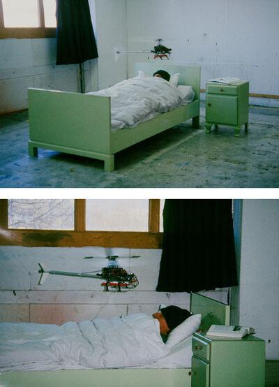 Roman Signer, 'Bett', 1996