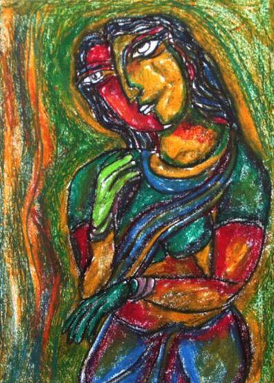 C Dakshinamoorthy, 'Untitled II', 2007