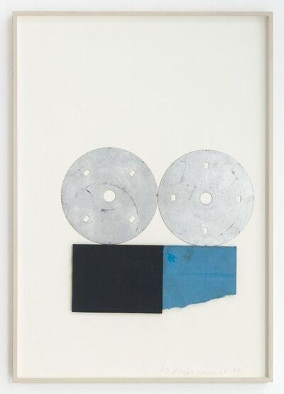Michael Kienzer, 'Ohne Titel (Materialcollage in der Vitrine)', 2019