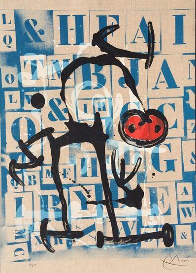 Joan Miró, 'Le Lettre - Rouge', 1969