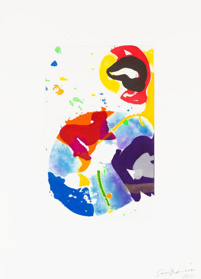 Sam Francis, 'Untitled (SFE-091', 1993