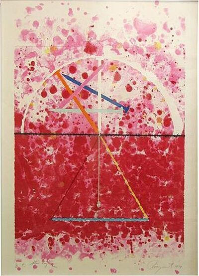 James Rosenquist, 'Universal Star Leg', 1974