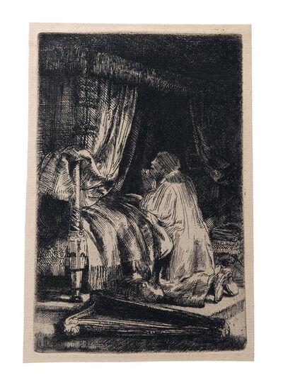 Rembrandt van Rijn, 'David in Prayer', 1652