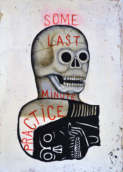 Fred Stonehouse, 'Last Minute Practice', 2017