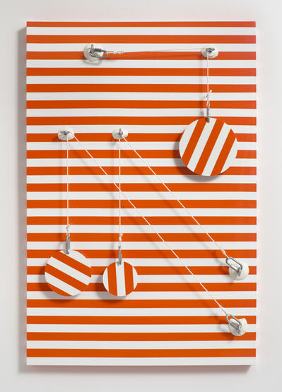 Joshua Saunders, 'Orange_Stripes', 2016