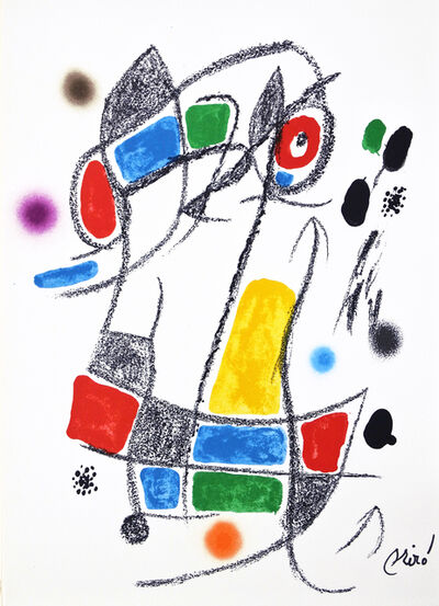 Joan Miró, 'Maravilla 1', 1975