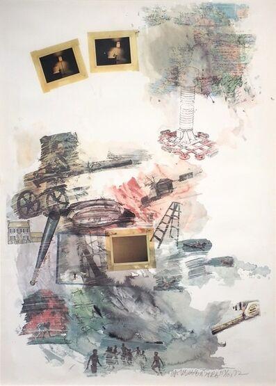Robert Rauschenberg, 'Lichen', 1972