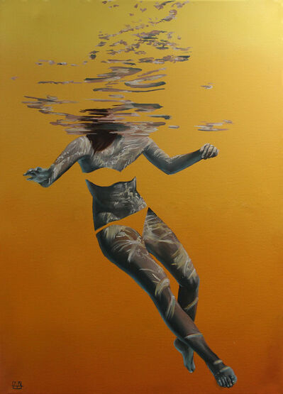 Amanda Arrou-tea, 'Sea of your imagination. Yellow', 2019