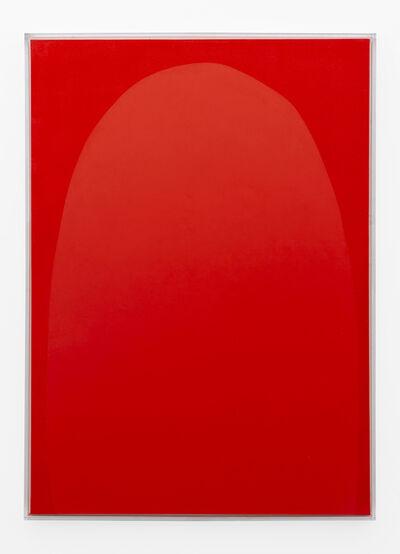 Pierre Vermeulen, 'Vermillion monochrome nr. 2', 2019