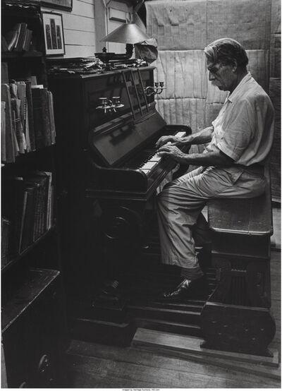 W. Eugene Smith, 'Albert Schweitzer at an organ', 1954