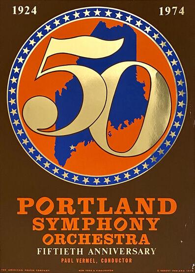 Robert Indiana, '50th Anniversary Portland Symphony Orchestra', 1974