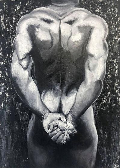 Sylvie Lescan, 'Corps d'athlète', 2019