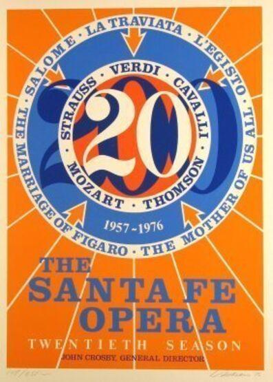 Robert Indiana, 'Santa Fe Opera', 1976