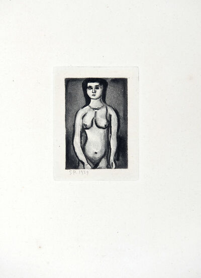 Georges Rouault, 'Nude', 1955