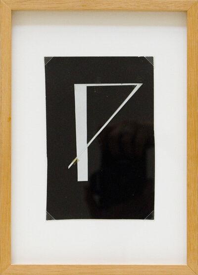 Mangelos, 'Glagolitic Letter N', ca. 1970