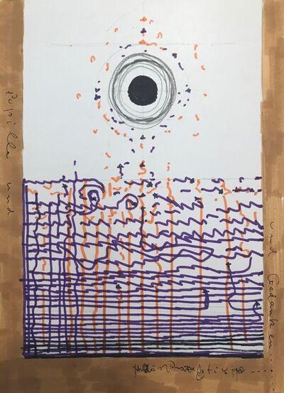 Warja Lavater, 'Pupille und Gedanken', ca. 1979