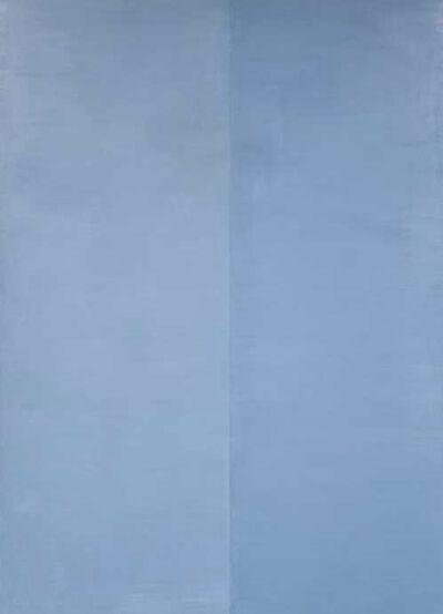 Genevieve Asse, 'Temps Bleu', 1985