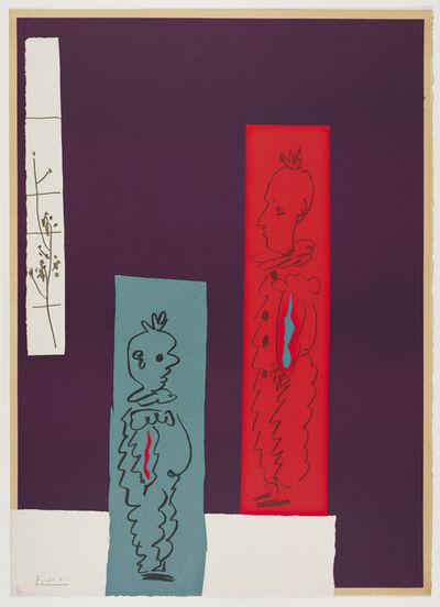 Pablo Picasso, 'Deux Clowns', 1954
