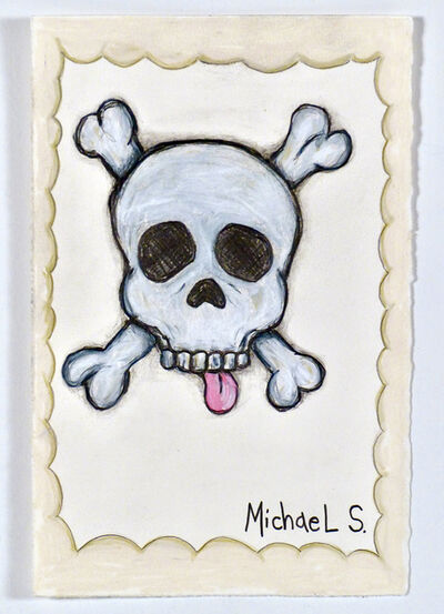Michael Scoggins, 'COVID: BLM Drawing #22 (Skull)', 2021