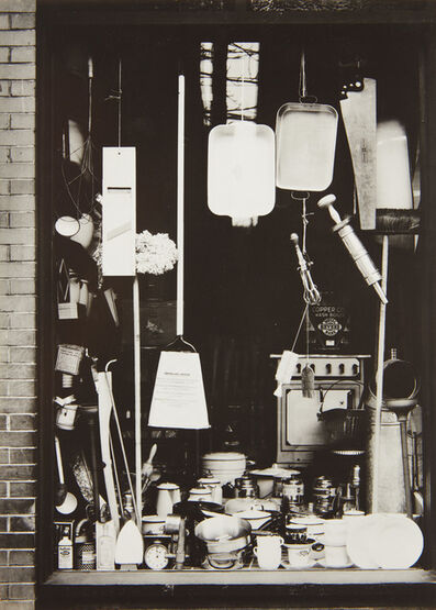 Walker Evans, 'Window Display, Bethlehem, Pennsylvania', 1935