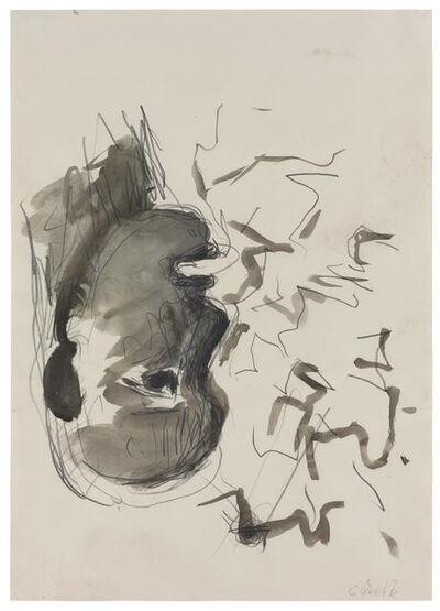 Georg Baselitz, 'Kopf (im Profil)', 1979