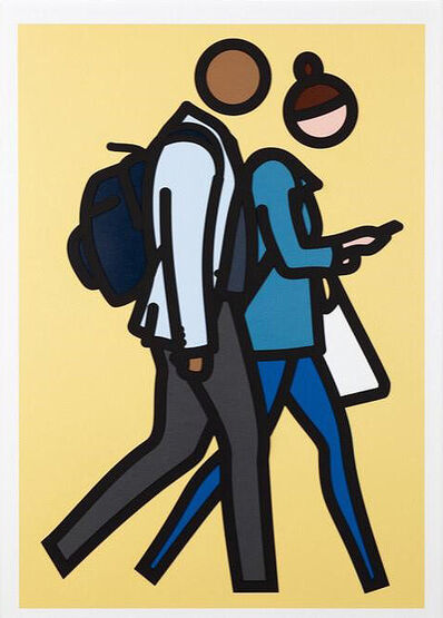 Julian Opie, 'New York Couple 1', 2019