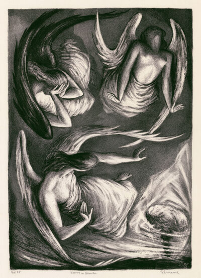 Benton Spruance, 'Havoc in Heaven', 1948