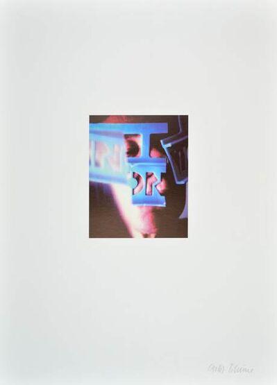 Anna & Bernhard Blume, 'ohne Titel', 1990-2000